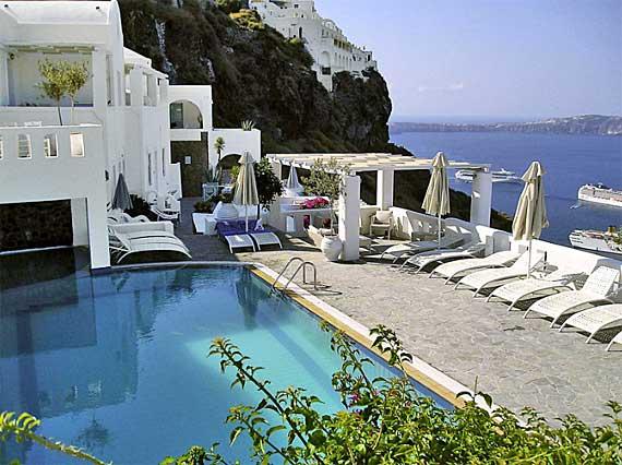 Hotel Agali Houses - Firostefani, Santorin, Griechische Insel ( Urlaub, Reisen, Lastminute-Reisen, Pauschalreisen )
