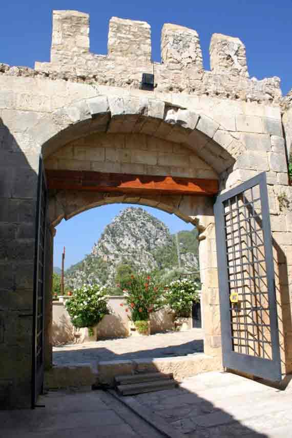 Karawanserei Alara-Han bei Yesilköy, Türkische Riviera, Türkei ( Urlaub, Reisen, Lastminute-Reisen, Pauschalreisen )