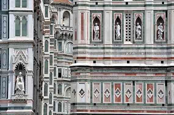 Italien, Toskana, Florenz - Dom Santa Maria del Fiore (Urlaub, Reisen, Last-Minute-Reisen, Pauschalreisen)