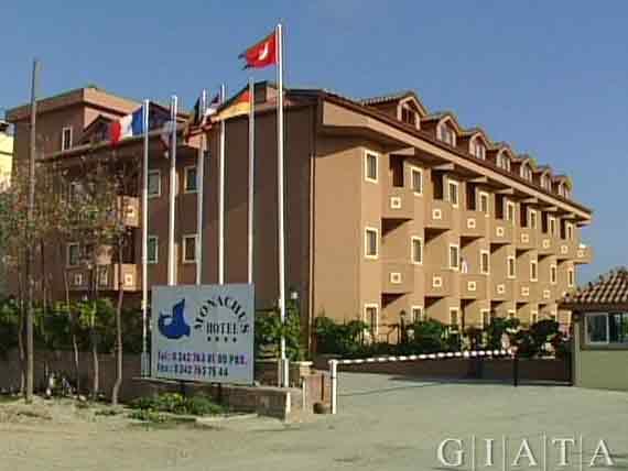 Monachus Hotel und Spa - Side-Evrenseki, Türkische Riviera, Türkei ( Urlaub, Reisen, Lastminute-Reisen, Pauschalreisen )