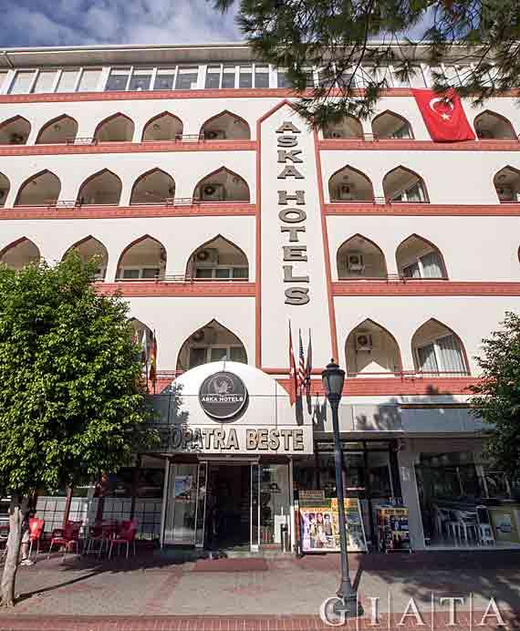 Hotel Aska Kleopatra Beste - Alanya, Türkische Riviera, Türkei ( Urlaub, Reisen, Lastminute-Reisen, Pauschalreisen )