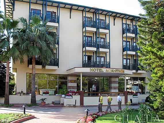 Hotel Cennet Und Acanthus Side