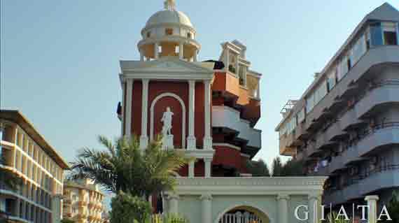 Hotel Antique Roman Palace - Alanya, Türkische Riviera, Türkei ( Urlaub, Reisen, Lastminute-Reisen, Pauschalreisen )