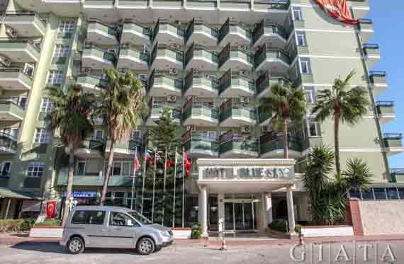 Hotel Blue Sky - Alanya, Türkische Riviera, Türkei ( Urlaub, Reisen, Lastminute-Reisen, Pauschalreisen )