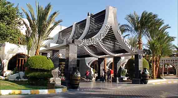 Hotel Aladdin Beach Resort in Hurghada - Ägypten ( Urlaub, Reisen, Pauschalreisen, Last Minute Reisen )