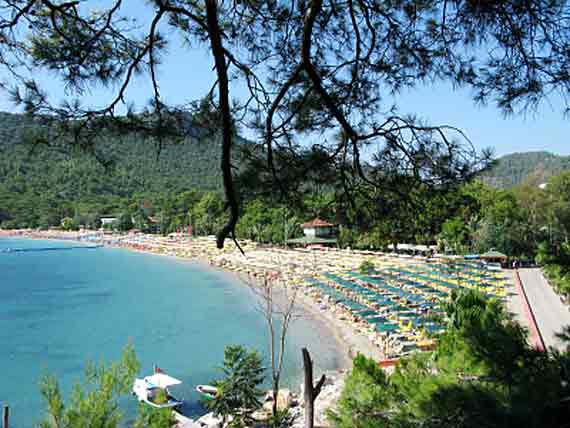 Strand Kemer, Türkische Riviera, Türkei ( Urlaub, Reisen, Lastminute-Reisen, Pauschalreisen )