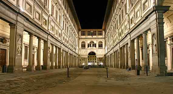 Italien, Toskana, Florenz  - Die Uffizien, das grosse Erbe der Medici ( Urlaub, Reisen, Lastminute-Reisen, Pauschalreisen )