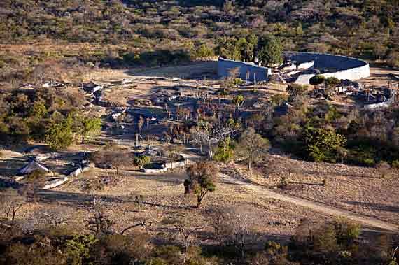 Simbabwe (Zimbabwe) - Die Ruinen von Groß-Simbabwe ( Urlaub, Reisen, Lastminute-Reisen, Pauschalreisen )