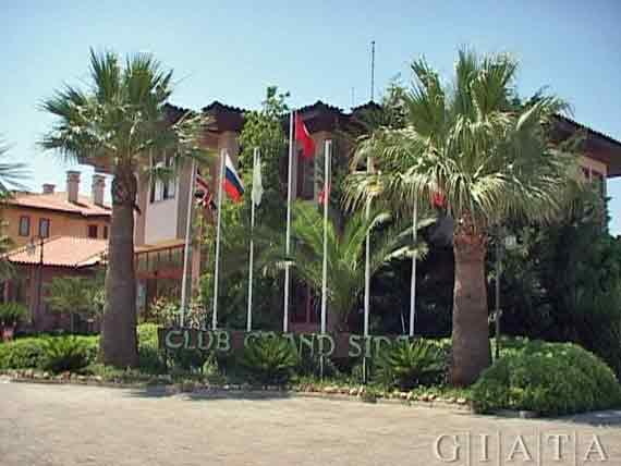 Hotel Club Grand Side - Side-Colakli, Türkische Riviera, Türkei ( Urlaub, Reisen, Lastminute-Reisen, Pauschalreisen )