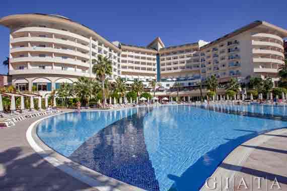 hotel saphir resort spa in okurcalar karaburun t rkei