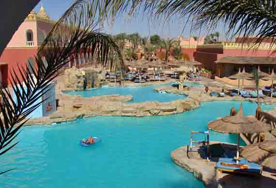 Hotel Alf Leila Wa Leila in Hurghada - Rotes Meer, Ägypten