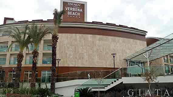 Trendy Hotel Verbena Beach - Side-Evrenseki, Türkische Riviera, Türkei ( Urlaub, Reisen, Lastminute-Reisen, Pauschalreisen )