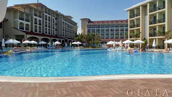 Hotel Paloma Oceana Resort - Side- Kumköy, Türkische Riviera, Türkei ( Urlaub, Reisen, Lastminute-Reisen, Pauschalreisen )