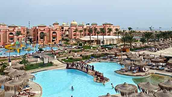 Grand Hotel Hurghada Strandbar