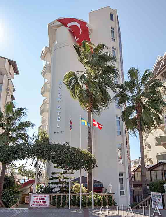 Hotel Azak - Alanya, Türkische Riviera, Türkei ( Urlaub, Reisen, Lastminute-Reisen, Pauschalreisen )