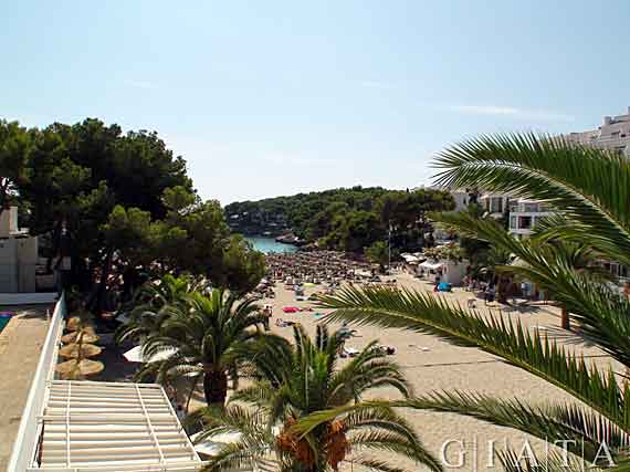 Cala Gran in Cala d'Or, Mallorca, Spanien ( Urlaub, Reisen, Lastminute-Reisen, Pauschalreisen )