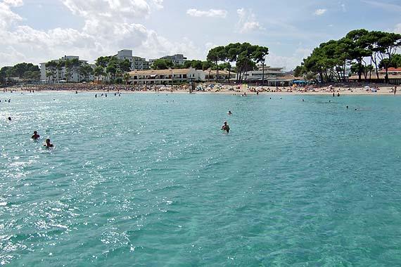 Sandstrand Playa de Muro (Platja de Muro), Alcudia, Mallorca (Urlaub, Reisen, Last-Minute-Reisen)