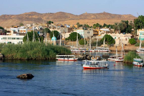 Ägypten, Assuan - Die Stadt am Assuan-Damm ( Urlaub, Reisen, Lastminute-Reisen, Pauschalreisen )