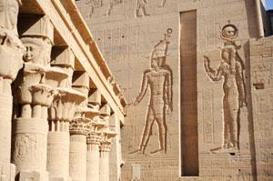 Ägypten, Nil - Tempel der Isis ( Urlaub, Reisen, Lastminute-Reisen, Pauschalreisen )