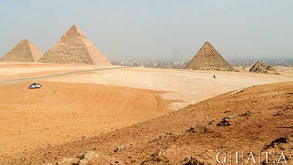 Ägypten, die Pyramiden von Gizeh ( Urlaub, Reisen, Lastminute-Reisen, Pauschalreisen )