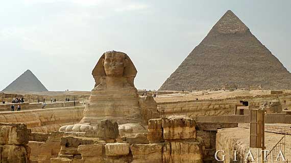 Ägypten - Die Sphinxund die Pyramiden von Gizeh ( Urlaub, Reisen, Lastminute-Reisen, Pauschalreisen )