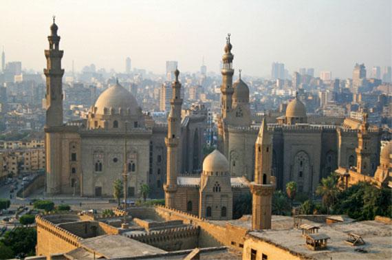 Ägpten - Kairo mit Moscheen und Minaretten ( Urlaub, Reisen, Lastminute-Reisen, Pauschalreisen )