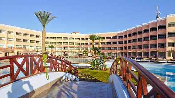Beach Albatros Resort in Hurghada - Rotes Meer, Ägypten ( Urlaub, Reisen, Lastminute-Reisen, Pauschalreisen )