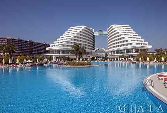 Hotel Miracle Resort In Antalya Lara T 252 Rkische Riviera