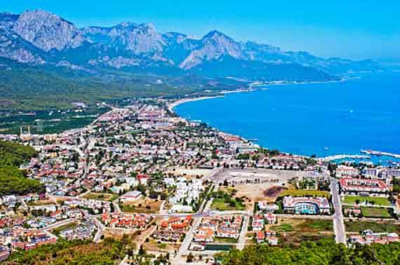 Kemer an der türkischen Riviera, Türkei ( Urlaub, Reisen, Lastminute-Reisen, Pauschalreisen )