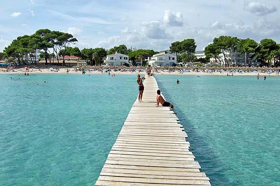 Strand Playa de Muro, Alcudia, Mallorca, Spanien (Reisen, Urlaub, Lastminute)