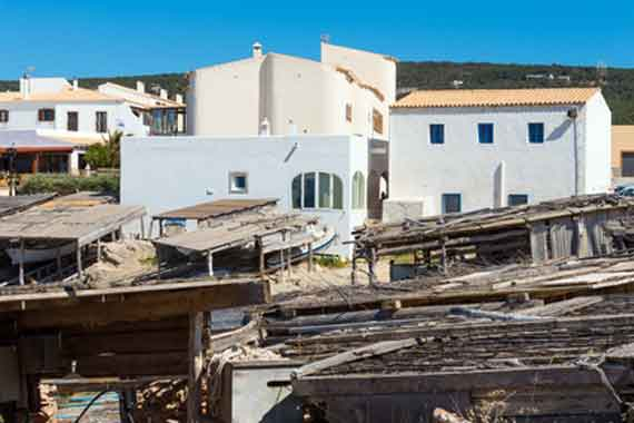 Balearen, Formentera - Fischerdorf Es Calo de Sant Agusti ( Urlaub, Reisen, Lastminute-Reisen, Pauschalreisen )