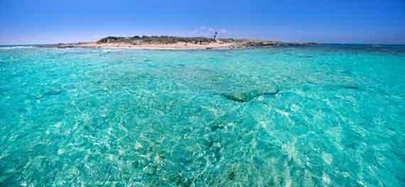 Formentera, Balearen - Vorgelagerte Insel S'Espalmador ( Urlaub, Reisen, Lastminute-Reisen, Pauschalreisen )