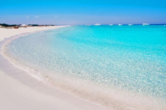 Balearen, Formentera - Tanga Strand auf der Halbinsel Es Trucadors ( Urlaub, Reisen, Lastminute-Reisen, Pauschalreisen )