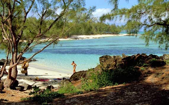 Indischer Ozean, Mauritius - Badebucht ( Urlaub, Reisen, Lastminute-Reisen, Pauschalreisen )