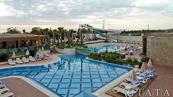 Trendy hotel verbena beach side evrenseki t rkei for Trendiest hotels