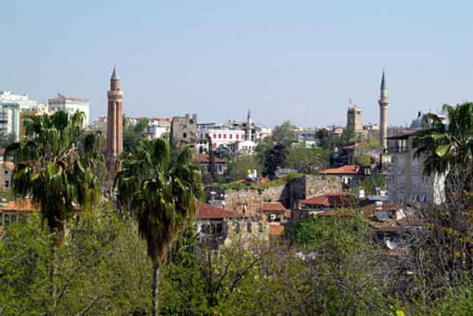 Altstadt von Antalya, Türkische Riviera, Türkei ( Urlaub, Reisen, Lastminute-Reisen, Pauschalreisen )