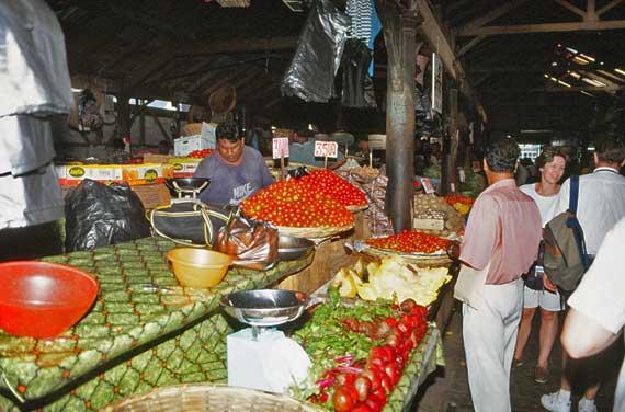 Mauritius - Alter Markt von Port Louis ( Urlaub, Reisen, Lastminute-Reisen, Pauschalreisen )