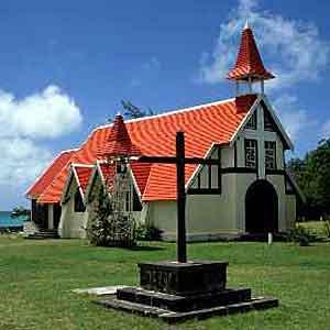 Indischer Ozean, Mauritius - Katholische Kirche ( Urlaub, Reisen, Lastminute-Reisen, Pauschalreisen )