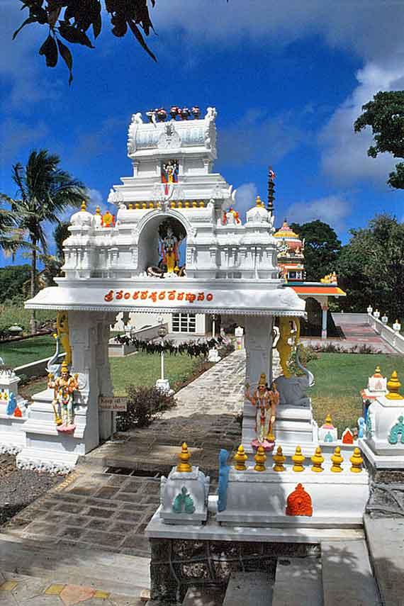 Indischer Ozean, Mauritius - Hindu-Tempel ( Urlaub, Reisen, Lastminute-Reisen, Pauschalreisen )