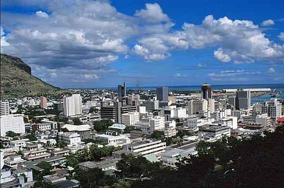 Indischer Ozean, Mauritius - Inselhauptstadt Port Louis ( Urlaub, Reisen, Lastminute-Reisen, Pauschalreisen )