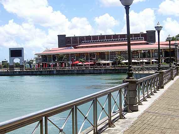 Indischer Ozean, Mauritius - Port Louis Waterfront ( Urlaub, Reisen, Lastminute-Reisen, Pauschalreisen )