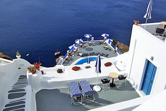 Griechenland, Griechische Insel Santorini - Kykladen Inseln ( Urlaub, Reisen, Lastminute-Reisen, Pauschalreisen )
