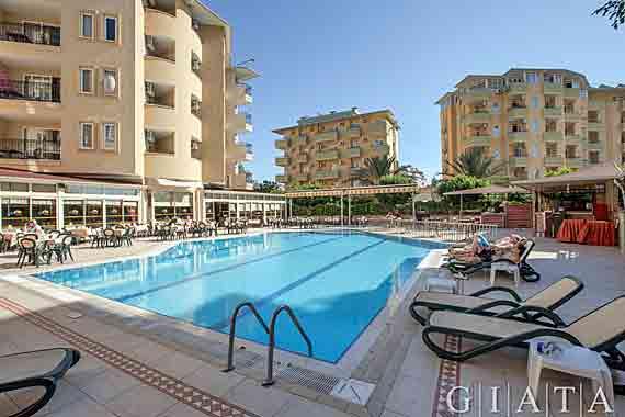 Hotel Kleopatra Royal Palm - Alanya, Türkische Riviera, Türkei ( Urlaub, Reisen, Lastminute-Reisen, Pauschalreisen )