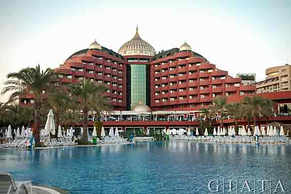 Hotel Delphin Palace - Antalya-Lara, Türkische Riviera, Türkei (Urlaub, Reisen, Last-Minute-Reisen)