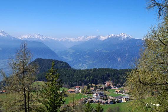 Hafling bei Meran, Südtirol, Italien