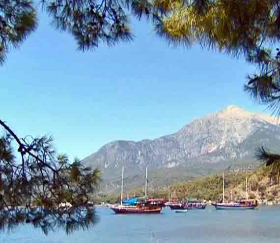 Tahtali-Dag bei Kemer, Türkische Riviera, Türkei ( Urlaub, Reisen, Lastminute-Reisen, Pauschalreisen )