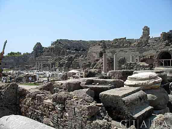 Historisches Side, Türkische Riviera, Türkei ( Urlaub, Reisen, Lastminute-Reisen, Pauschalreisen )