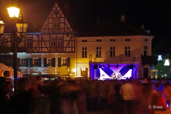 Kronach Leuchtet ( Marktplatz ), Frankenwald, Bayern, Deutschland
