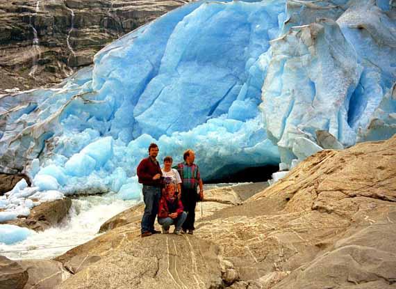 Gletscher in Norwegen ( Urlaub, Reisen, Lastminute-Reisen, Pauschalreisen )