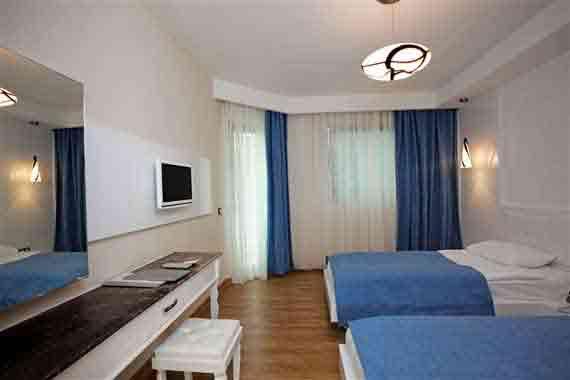 Hotel Voyage Türkbükü Standard-Zimmer - Halbinsel Bodrum, Türkei Südägäis ( Urlaub, Reisen, Lastminute-Reisen, Pauschalreisen )
